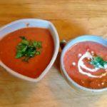 Two tomato soups made differently