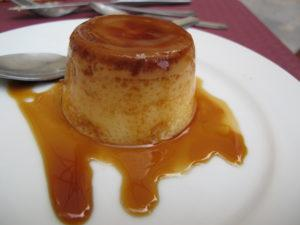IMG 2252 Flan 300x225 Spain, Valencia inland to Teurel:  Lessons Learned and Food Enjoyed   Day 3