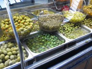 IMG 2266 olives in mercado central 300x225 Spain, Valencia inland to Teurel:  Lessons Learned and Food Enjoyed   Day 3