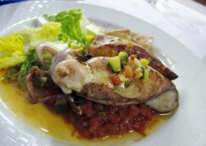 IMG 2498 squid at Adolfos 300x212 Spain   Avila, Toledo & Granada: Lessons Learned and Food Enjoyed   Day 7