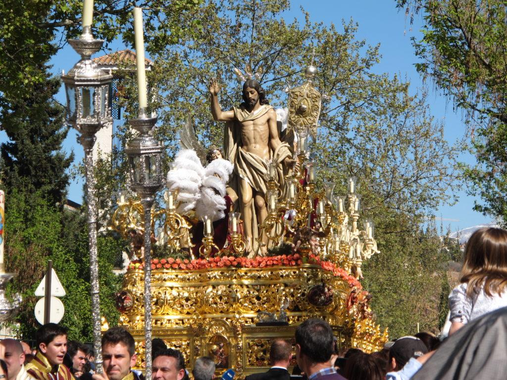IMG 2572 float 21 1024x768 Spain: Holy Week in Granada: Lessons Learned and Food Enjoyed   Day 8