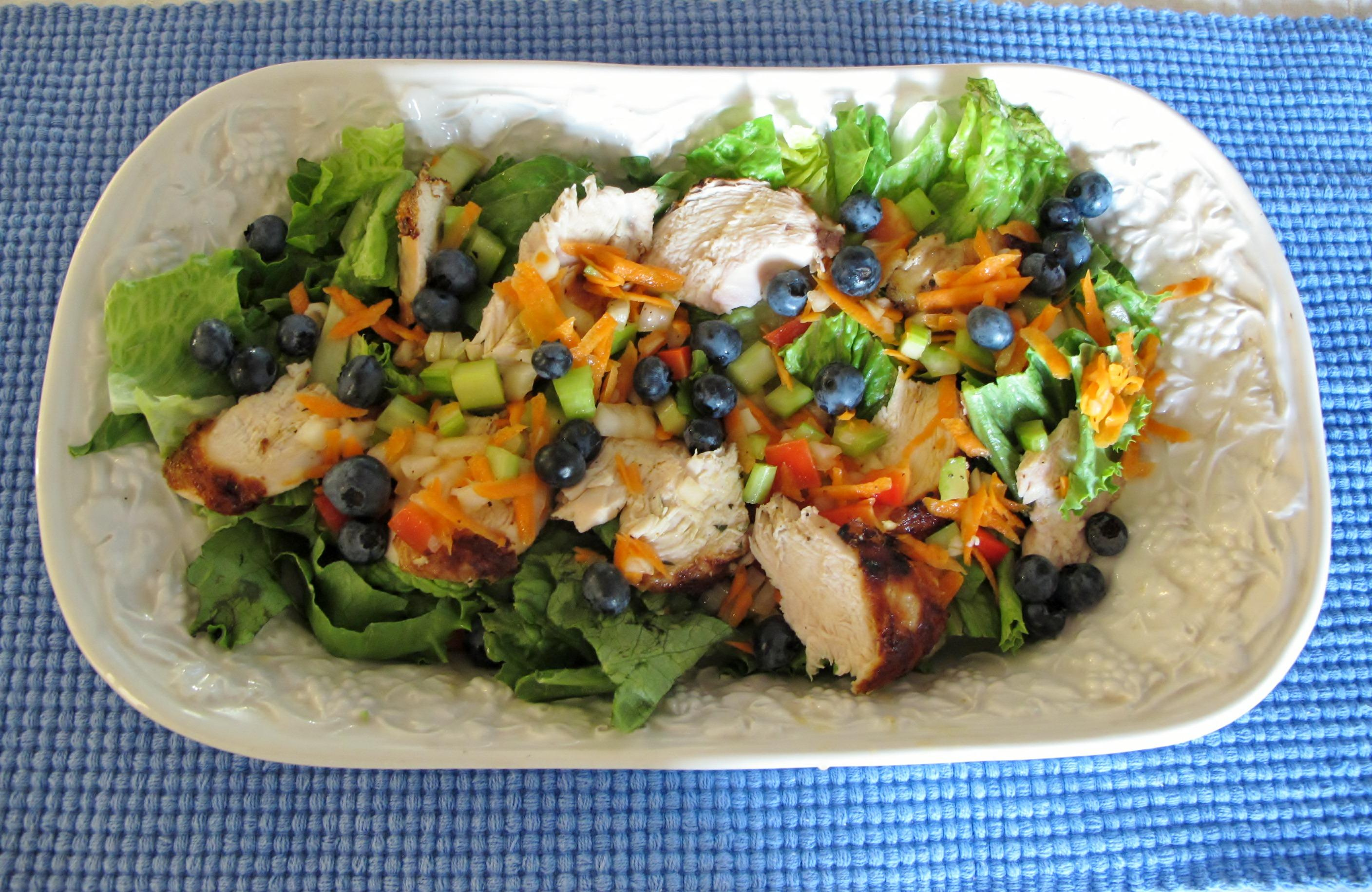 Chicken Salad With Tarragon Recipe — Dishmaps