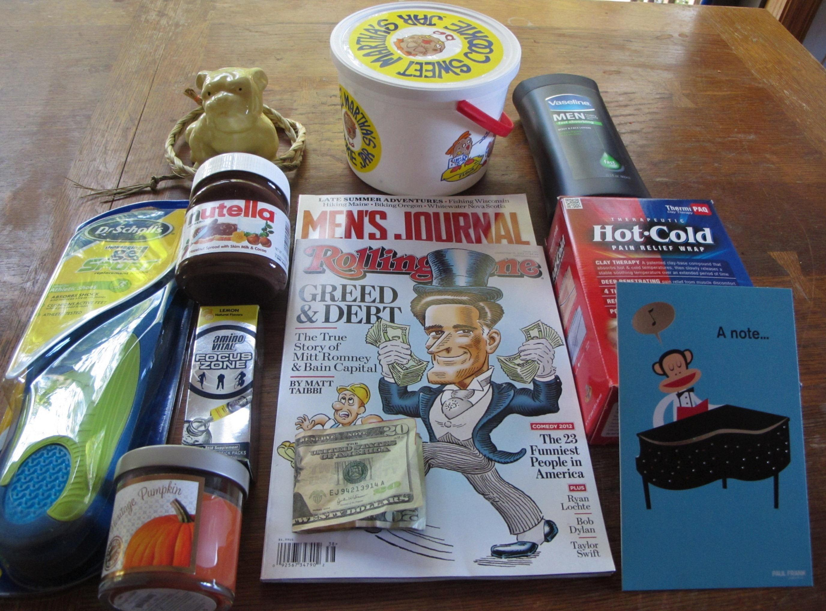 Christmas List Ideas For College Guys : College care packages ideas for fall