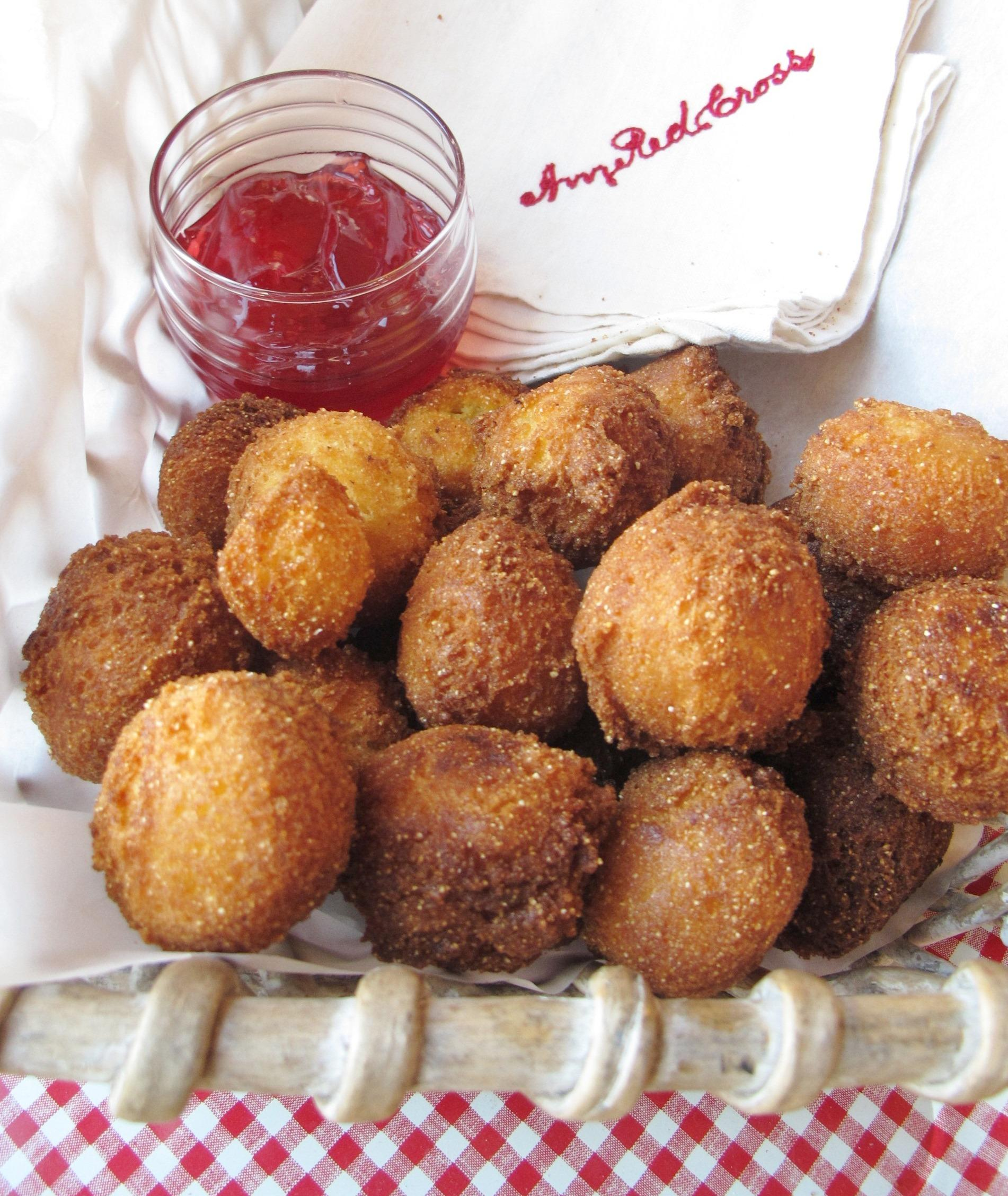 Hushpuppies with Raspberry Habanero Jelly (Stainbrook)