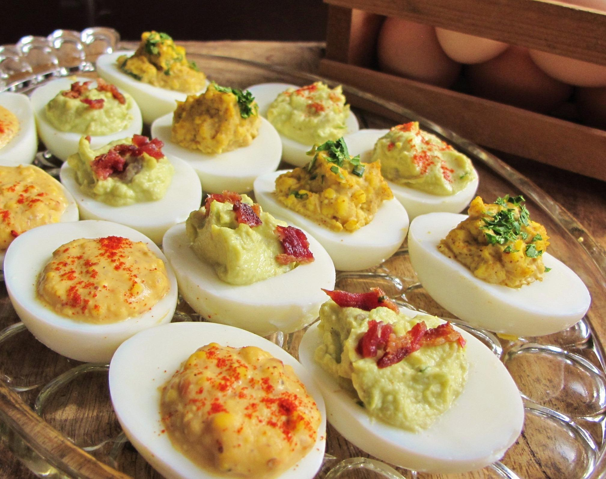 Three flavor-packed, diet-friendly ways to make and fill deviled eggs