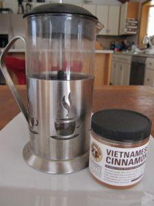 Coffee and Vietnamese Cinnamon for Slow Carb Diet