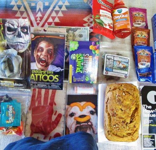 Halloween Care Package for the Boy - 2013