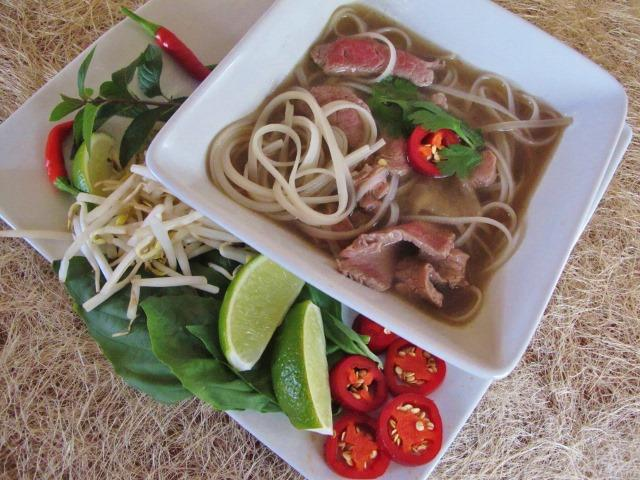 Beef Pho in a Slow Cooker (Vietnamese Beef Noodle Soup) - Farm to Jar Food