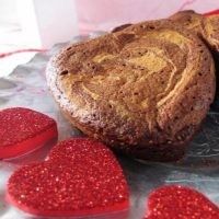 Raspberry cheesecake cookies for Valentines care packages