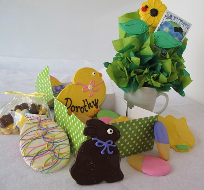 Easter treats from Cookie Temptations