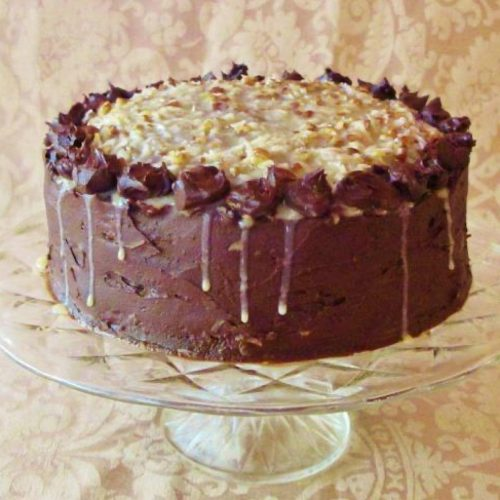 Classic German Chocolate Cake via David Lebovitz