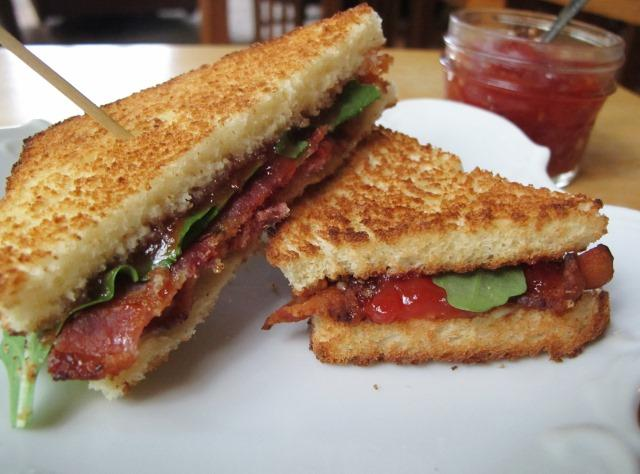 bacon jam blt sandwich woolworths co za bacon sandwiches with bacon ...