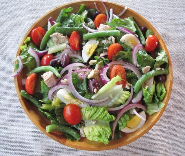 Ketogenic Dinner Salad The Nicoise Salad Low Carb Or