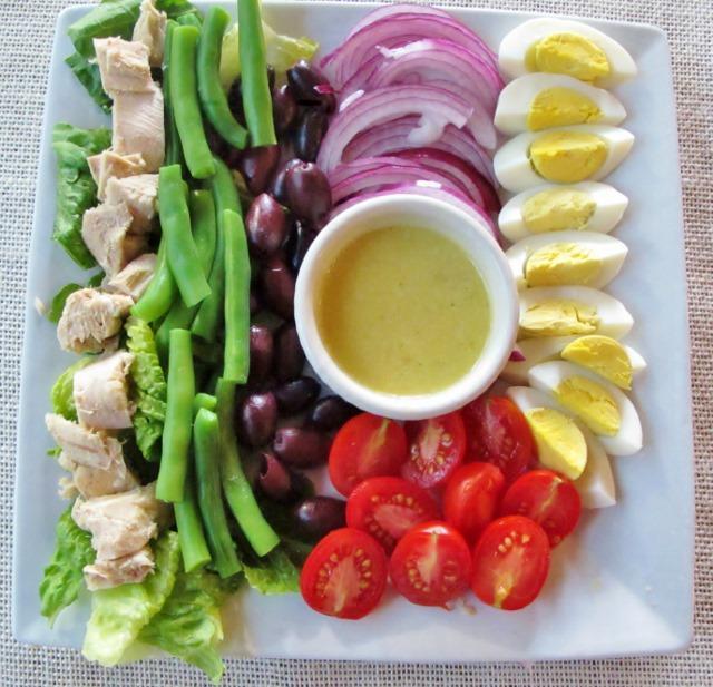 ketogenic dinner salad