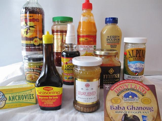 Condiments that are compliant with a low carb pantry