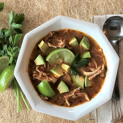 low carb chicken lime soup