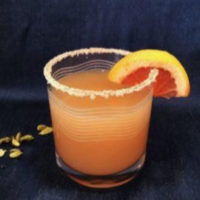 Salty Dog Cocktail in highball glass