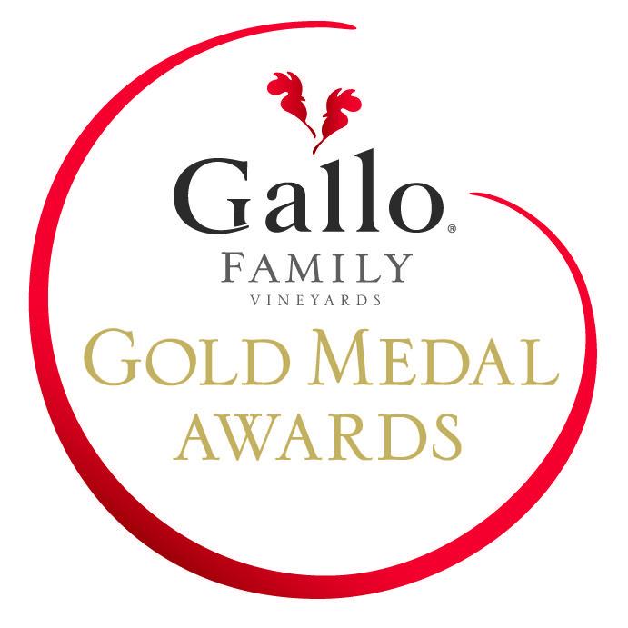 Logo for Gallo Family Vineyards Gold Medal Awards