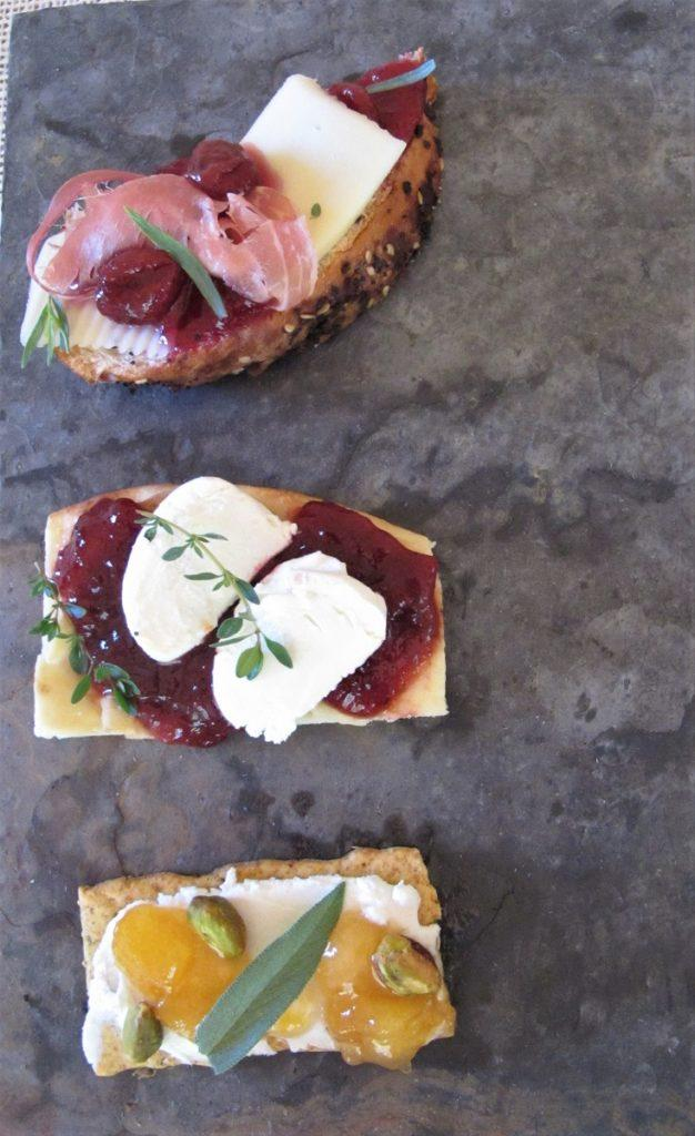 Popular cheese and jam pairings